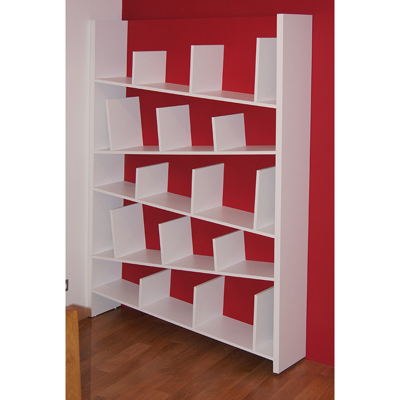 Biblioth que simple et originale etag res en biais nancy 54 quadra te - Meuble bibliotheque habitat ...